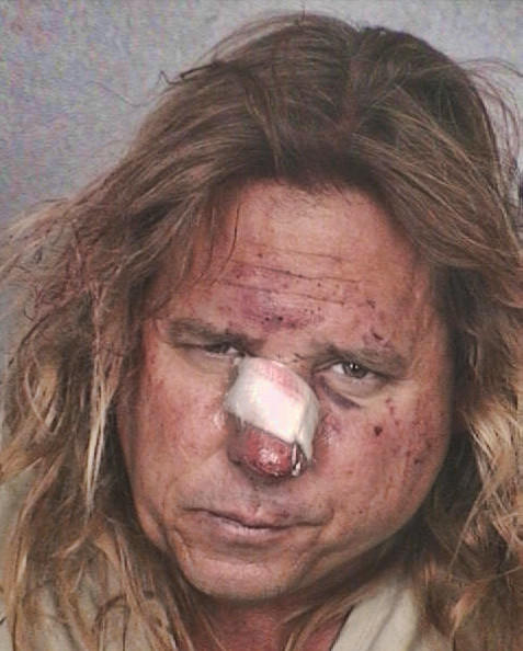 Kenneth Post, 49, of Fort Lauderdale is shown in a November 2009 jail arrest photograph. Fort Lauderdale police officers said they had to fight him to bring him under control and arrest him after a police chase and crash in the Rio Vista neighborhood.