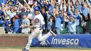 The game-time temperature dropped 31 degrees in two days at Wrigley Field, from 90 to 59, while the Cubs went from ice-cold to red-hot.