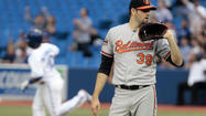 Blue Jays finish sweep of reeling Orioles, 4-1