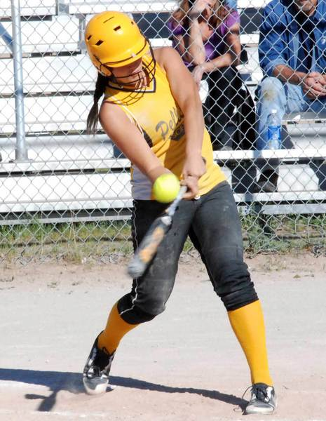 Shelby Hughey and her Pellston High School softball teammates will play St. Ignace in a Division IV district semifinal game at Rudyard 11 a.m. Friday, June 1.
