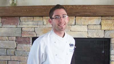 Russell Miller is executive chef for Blue Harbor Grille, a new restaurant at Sommerset Pointe Yacht Club near Boyne City.