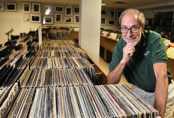 Ed Krech is the owner of Integrity 'N Music, a Wethersfield record shop specializing in jazz has been in business for 40 years.