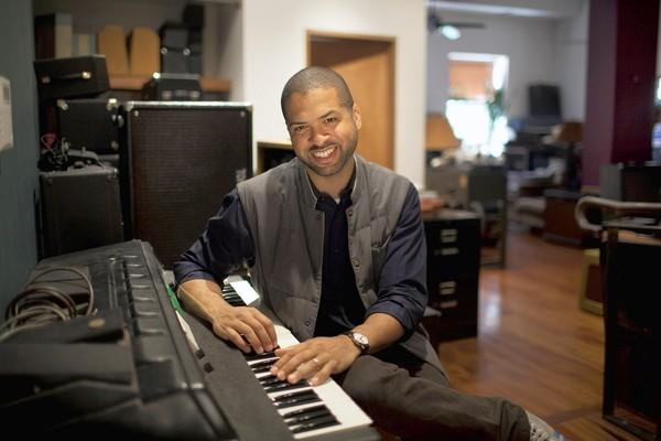 Jason Moran plays the Symphony Center on Friday night.