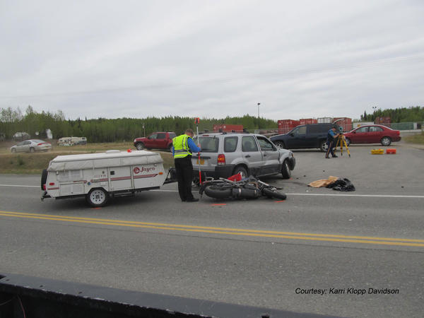 On May 30, a Soldotna man was killed a motorcycle crash with a compact SUV at Mile 91.2 of the Sterling highway, according to Alaska State Troopers.