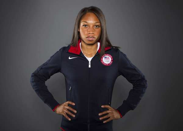 The 26-year-old California native  is a strong contender to win the 200-meter and 400-meter dashes in London. She has won silver medals in both the 2004 and 2008 Summer Games. Now in 2012, she's looking for gold.