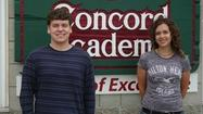 PETOSKEY — Alexis Achterhof achieved valedictorian status for Concord Academy Petoskey's Class of 2012, with Zachary Beck named the class salutatorian.