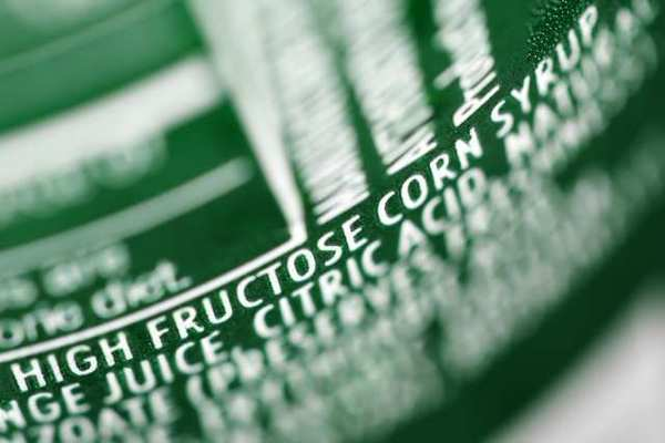 "The nutrition label on a can of soda lists the ingredient high-fructose corn syrup. The Food and Drug Administration rejected the Corn Refiners Assn.'s bid to rename the sweetener ""corn sugar."""