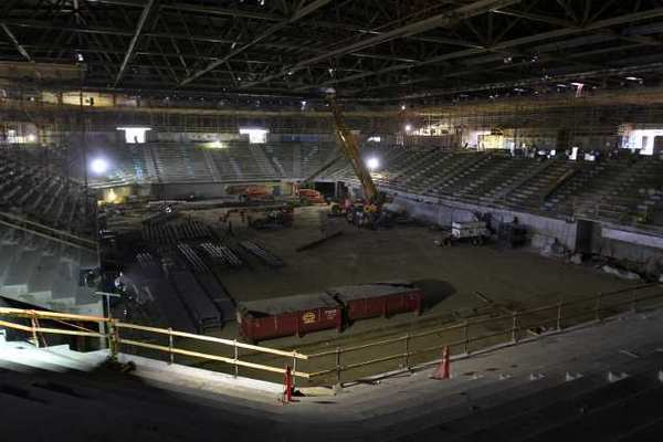 The renovated Pauley Pavilion will be ready in time for next season.