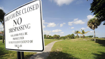 Mizner Trail golf course contamination concerns unresolved