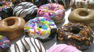 "In honor of the 75th annual National Donut Day on Friday, <a title=""The Salvation Army"" href=""http://www.salvationarmyusa.org/usn/www_usn_2.nsf"" target=""_blank"">The Salvation Army</a> is collaborating with Krispy Kreme Doughnuts and giving away 2,000 free donuts."