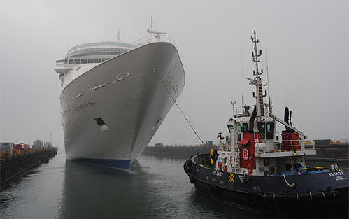 The Royal Caribbean Grandeur of the Seas completed its $48 million at the Navantia ship yard in Cadiz, Spain on June 1, 2012.