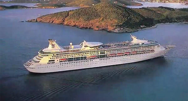 The Royal Caribbean Grandeur of the Seas completed a $48 million makeover in June 2012.