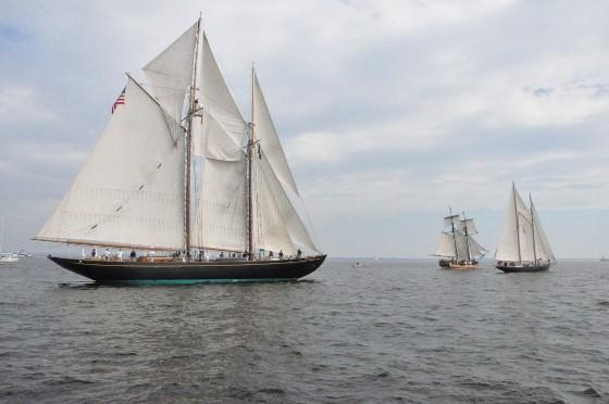 The schooner Virginia will be part of OpSail 2012 Virginia.