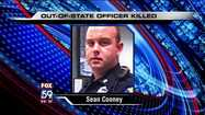 Out-of-state officer killed in downtown Indianapolis