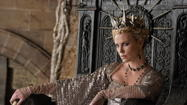 "Reviews for ""Snow White and the Huntsman,"" a dark and violent retelling of the fairy tale, are all over the map. This movie follows the recent release of a comic adaptation -- ""Mirror, Mirror"" with Julia Roberts and Nathan Lane -- and they couldn't be more different. ""Snow White and the Huntsman"" is driven by special effects, and a vicious queen, played by Charlize Theron. Snow White (Kristen Stewart) is much more feisty too -- far, far from a naive fairy tale character. Sounds like a movie you will love or hate. Here are excerpts from reviews:"