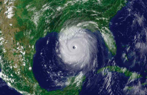 Hurricane Katrina went through an eyewall replacement cycle before it devastated New Orleans in 2005.