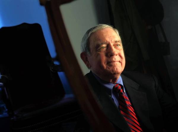 "Journalist Dan Rather has a new book titled ""Rather Outspoken."""
