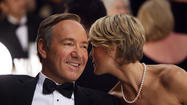 House of Cards, Kevin Spacey as Francis Underwood and Robin Wright as Claire Underwood. Kimaging photo by Melinda Sue Gordon