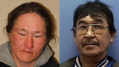 Anchorage police arrested Elijah Walker, 35 (left) and Charles Charlie, 59 (right) after separate sexual-assault incidents Thursday. Both men are being held at the Anchorage Jail; anyone who may have been contacted by Charlie is asked to call APD Detective John Vandervalk at 786-8776.