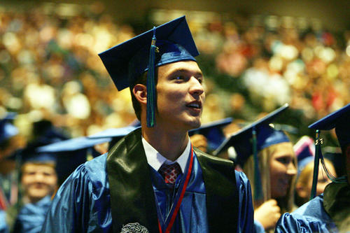 East Jessamine High School sends off its 2012 graduates.