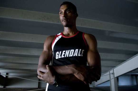 Glendale High sprinter Mike Davis qualified for the CIF State track and field Finals Friday.
