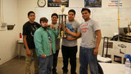 BRAWLEY — Calipatria welding students took the team competition and the top two individual prizes in the annual welding competition sponsored by the Imperial Valley Regional Occupational Program.