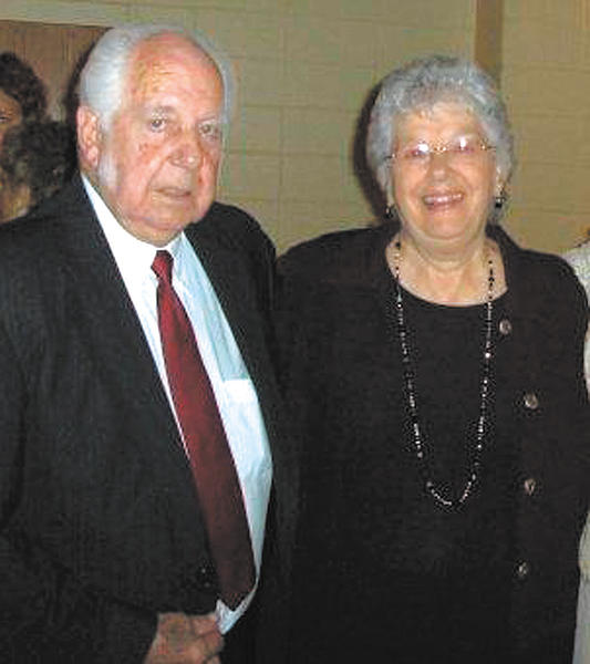 This photograph was taken of Ralph and Betty Reeder at a family wedding in Salisbury, Md., in 2009.