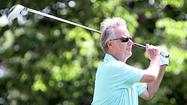 18 holes with ... Mark Rolfing