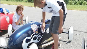 Soap Box Derby Held In Lynchburg