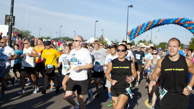 Largest road race in Kansas takes off at Riverfest