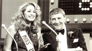 Richard Dawson with Miss U.S.A.