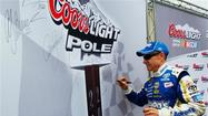 Martin wins pole at Dover International Speedway
