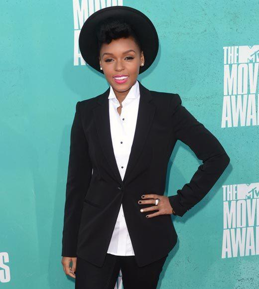 2012 MTV Movie Awards red carpet arrival pics: Janelle Monae