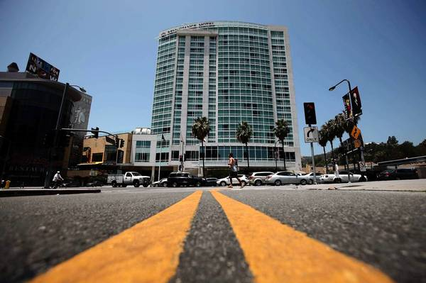 Loews' deal to buy the Renaissance Hollywood Hotel at the Hollywood & Highland entertainment complex, above, is expected to close by the end of the month.