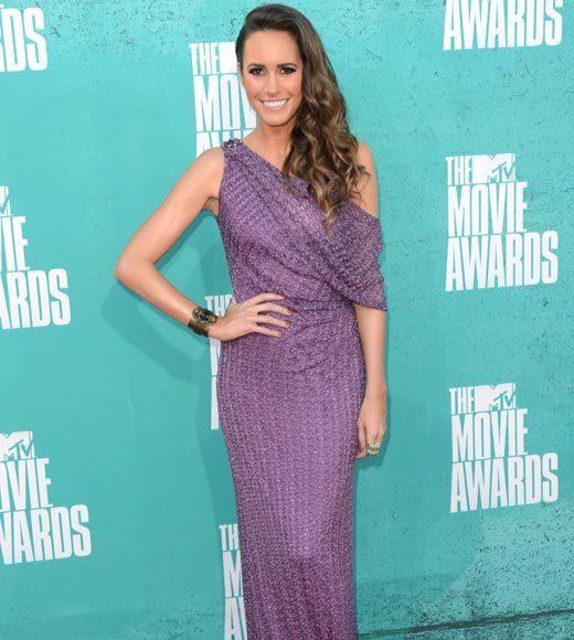 2012 MTV Movie Awards red carpet arrival pics: Louise Roe