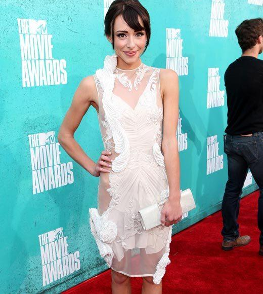 2012 MTV Movie Awards red carpet arrival pics: Lauren McKnight