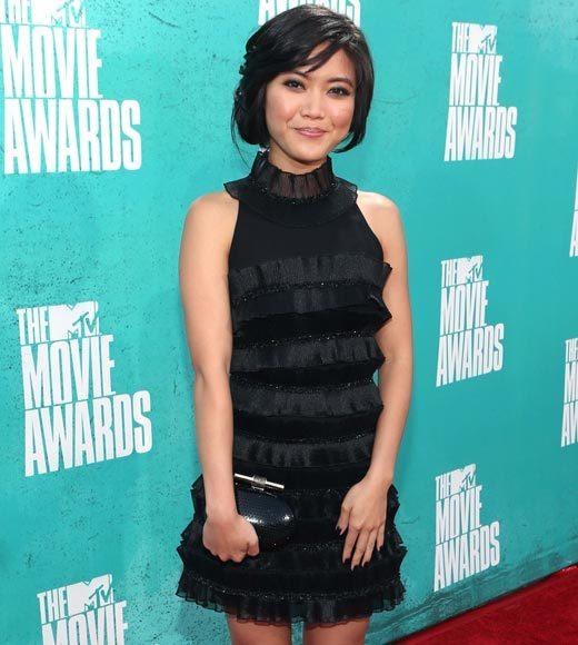 2012 MTV Movie Awards red carpet arrival pics: Jessica Lu