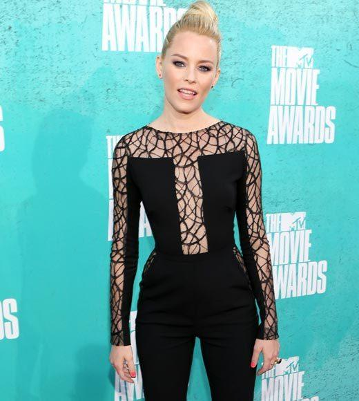 2012 MTV Movie Awards red carpet arrival pics: Elizabeth Banks