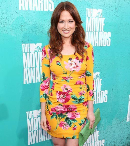 2012 MTV Movie Awards red carpet arrival pics: Elli Kemper