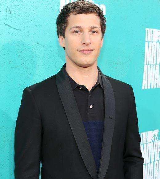 2012 MTV Movie Awards red carpet arrival pics: Andy Samberg