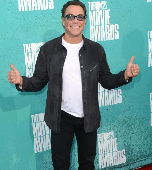 2012 MTV Movie Awards red carpet arrival pics: Jean-Claude Van Damme