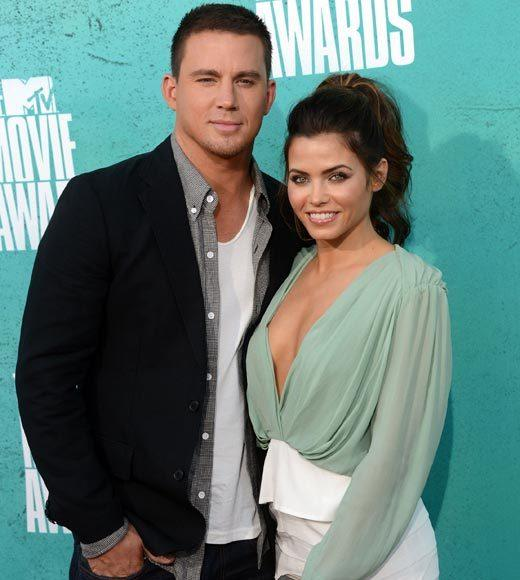 2012 MTV Movie Awards red carpet arrival pics: Channing Tatum and Jenna Dewan-Tatum