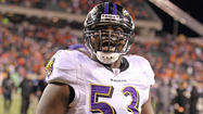 When Jameel McClain was an unrestricted free agent in March, there was a sentiment that the inside linebacker, who had started 31 of the Ravens' 32 games over the past two seasons, could be courted by a pair of former defensive-coordinators-turned-head-coaches in the New York Jets' Rex Ryan and the Indianapolis Colts' Chuck Pagano.
