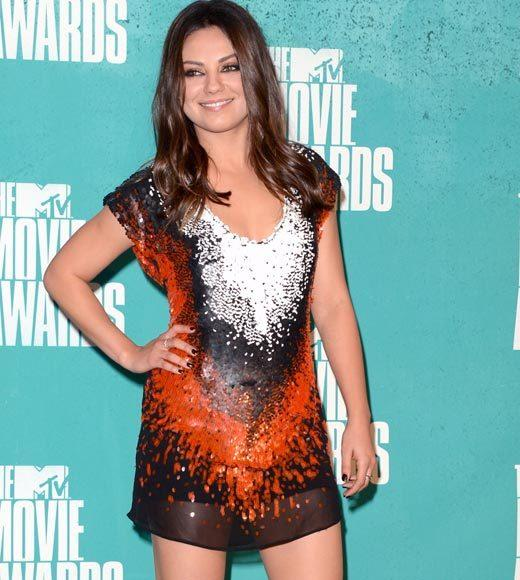 2012 MTV Movie Awards red carpet arrival pics: Mila Kunis