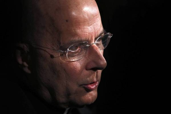 Cardinal Francis George, seen in April, attended an ecumenical prayer service Sunday to promote Christian unity.