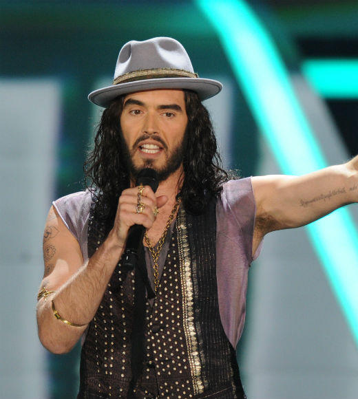 "Russell Brand had us howling at his jokes about Michael Fassbender and Justin Bieber (allegedly) punching a paparazzo, and in the context of the MTV Movie Awards his brief political jags (his usual stuff about his distaste for a two-party democracy) seemed downright subversive. Some jokes died, but he plowed right on through, and his manic energy made for a pretty great opening to the show.<br><br> <i>-- <a href=""http://twitter.com/Zap2itRick"">Rick Porter</a>, <a href=""http://www.zap2it.com"">Zap2it</a></i>"