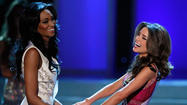 The contestant from Maryland was the runner-up in the Miss USA pageant Sunday in Las Vegas.