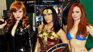Babes of Wizard World 2012