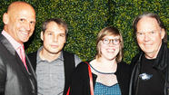 "Shepard Fairey and Neil Young helped to unveil  art dealer <a href=""http://latimesblogs.latimes.com/culturemonster/2011/08/perry-rubenstein-to-open-new-gallery-in-la.html"" target=""_blank"">Perry Rubenstein's new Los Angeles gallery</a> at a swank party on Saturday. The new art space isn't scheduled to officially open until late June, but Saturday's event was a soft launch attended by the press and a handful of art-world luminaries and celebrities."