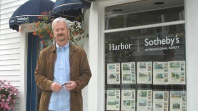 Harbor Sotheby's International Realty associate broker Bernie Schaffer stands in front of the firm's Harbor Springs office. Schaffer previously operated Schaffer Real Estate at the site before its recent merger with Harbor Sotheby's.